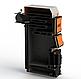 Твердопаливний котел тривалого горіння Kotlant КДУ-40 кВт з механічним регулятором тяги, фото 2