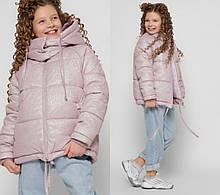 Стильна зимова куртка на дівчинку DT-8314