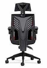 Игровое кресло HUZARO COMBAT 4.0 RED, фото 3