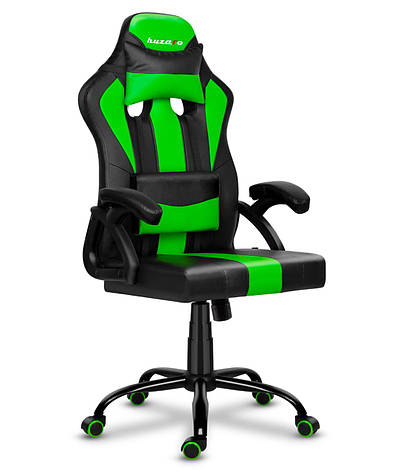 Игровое кресло HUZARO FORCE 3.0 GREEN, фото 2