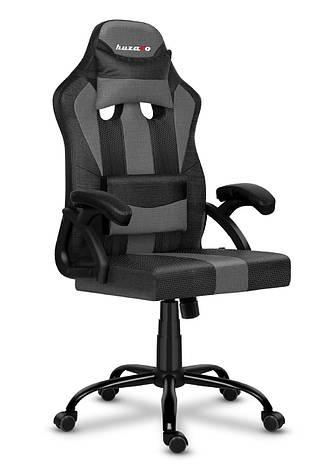 Игровое кресло HUZARO FORCE 3.0 GREY MESH, фото 2