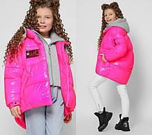Стильна зимова куртка на дівчинку DT-8310, р-ри 28-36