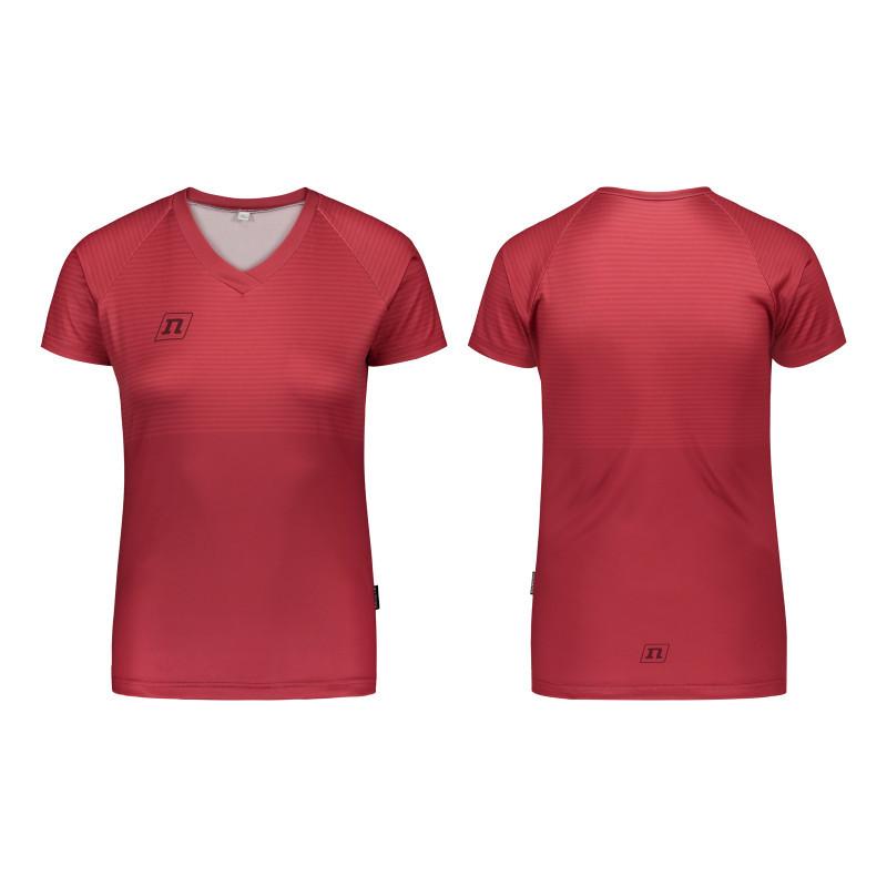 Футболка Noname WS RUN T-SHIRT WO'S 20 DK RED