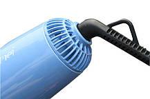Фен-щетка Gemei GM 4833 10 в 1 1000W Black | Воздушный фен щетка стайлер для волос, фото 3