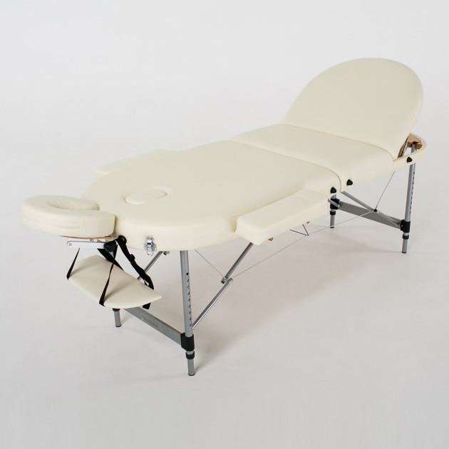 Складной 3-х секционный массажный стол  Oasis