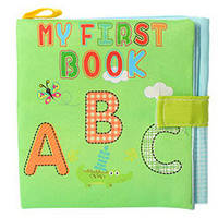 Книжка на липучке LT2984 ( LT2984-2 (Буквы)), погремушки,подвески на коляски,детский мобиль на
