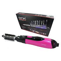 Воздушный стайлер для волос 10 в 1 GEMEI GM-4835 / Фен щетка / утюжок / плойка, фото 2