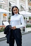 Женский брючный костюм тройка жилетка+гольф+брюки батал размер:48-50,52-54,56-58,60, фото 2