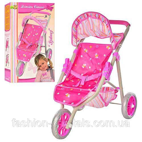 Детская прогулочная коляска для кукол Dimion Classic