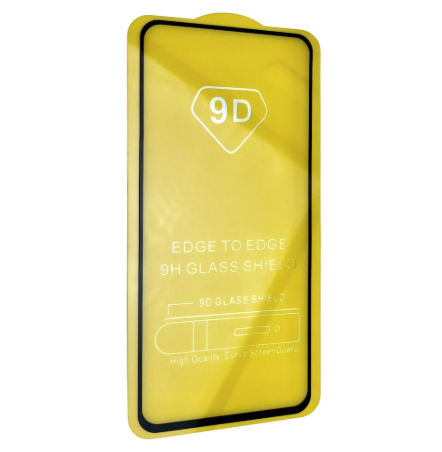 Захисне скло 9D Xiaomi Redmi Note 9 / Xiaomi redmi 10x повна проклейка 9H