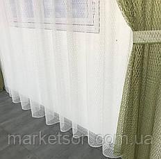 Готовые шторы из сетки 200х270см и тюль 400х270, фото 3