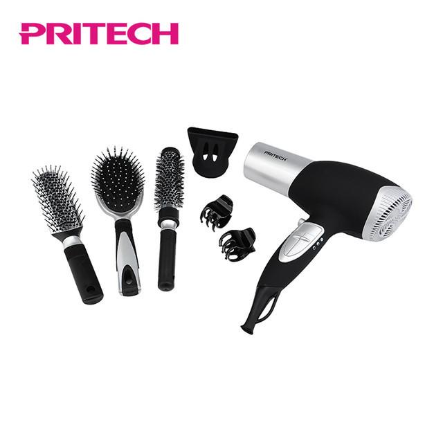 Фен многофункциональный 7в1 Pritech LD-6071 | Набір для укладання волосся з феном 7в1 PRITECH