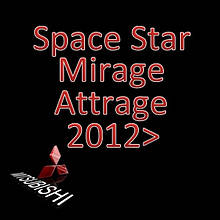 Mitsubishi Space Star II / Mirage VI / Attrage 4dr sedan 2012-present