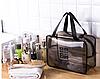 Косметичка сумка дорожняя прозрачная 28*20*12 см