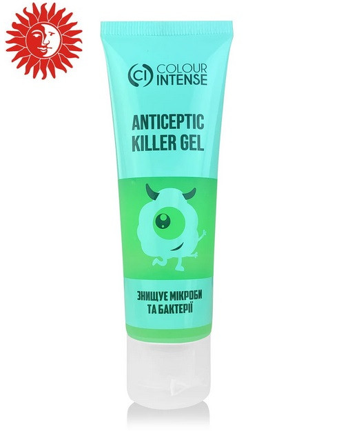 Антисептик для рук гелевый Colour Intense Killer Gel 50мл 01 fresh