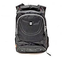 Рюкзак школьный для мальчика,черный,текстиль. Арт.8023 (Китай)