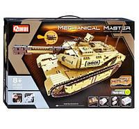 Элитный танк Конструктор на радио управлении 1276 деталей ABC