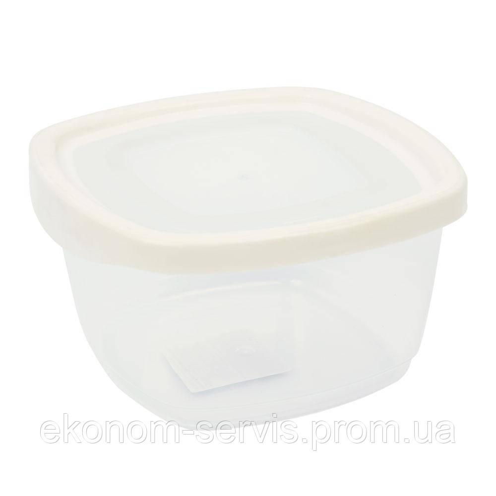 Контейнер пищевой квадратный с крышкой KEEPER BOX 0,95 л