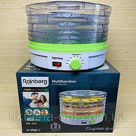 Cушилка для фруктов и овощей 16 л дегидратор Rainberg RB-912