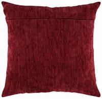 Обратная сторона подушки, бордовый
