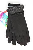 Женские перчатки с украшением