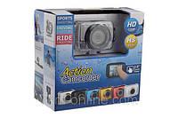 Камера для активного отдыха Action Camcorder + ПОДАРОК: Брелок с паракордом ультрафиолетовый лазер и фонарик