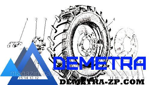 Диск МТЗ- трактора ЮМЗ колеса заднего ДW8х42 узкий