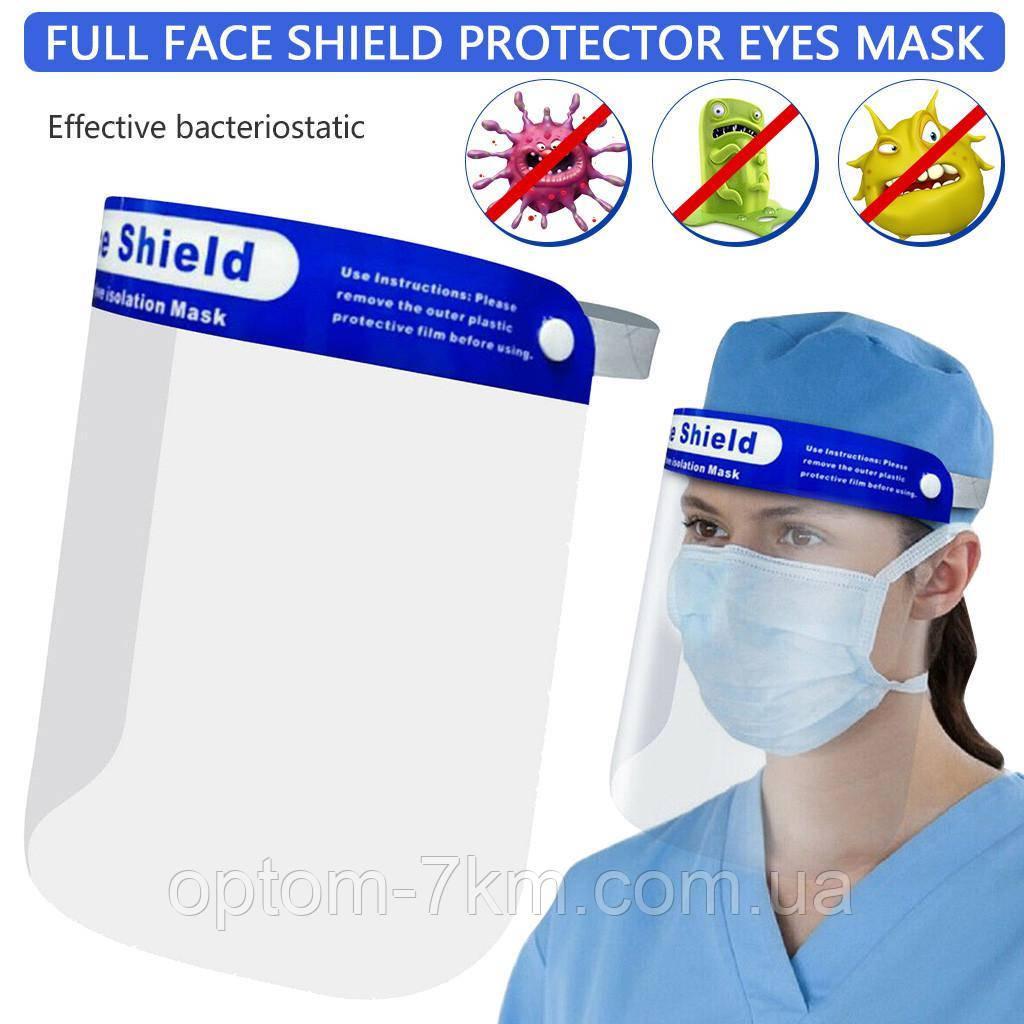 Щит/Екран/Маска для обличчя прозора захисна Face Shield ART 7204 S