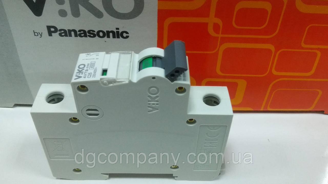 Автоматичний вимикач Viko 1кл 25 А