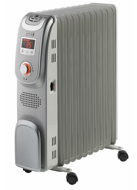 Радиатор масляный Gorenje OR2300PEM, 20 м2, 2300 Вт