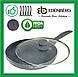 Сковорода 28 см Edenberg с антипригарным мраморным покрытием и крышкой (EB-788), фото 2