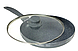 Сковорода 28 см Edenberg с антипригарным мраморным покрытием и крышкой (EB-788), фото 3