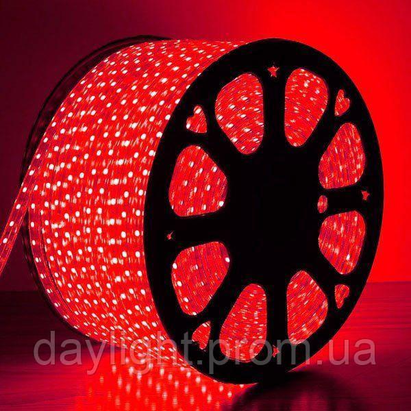 Уличная светодиодная led лента влаостойкая красный свет (9.6вт/м 120д 3528)