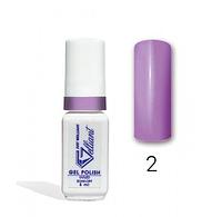 """Гель-Лак №002 Bold Lilac (насыщенный сиреневый) UV/LED """"Gelliant"""" 5 мл."""