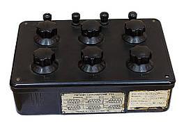 Б/У Магазин сопротивлений Р33. Точный прибор для определения сопротивления в цепях постоянного тока