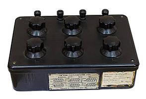 Б/У Магазин сопротивлений Р33. Точный прибор для определения сопротивления в цепях постоянного тока, фото 2
