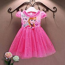 Платье Эльза. Детское карнавальное платье.  Платье Эльза и Анна.Детское платье со шлейфом.
