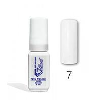 """Гель-Лак №007 White (белый) UV/LED """"Gelliant"""" 5 мл."""