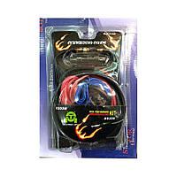 Комплект проводов для подключения усилителя BOSCH 1800W + ПОДАРОК: Брелок с паракордом ультрафиолетовый лазер