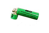 Батарейка BATTERY USB 18650 С USB Зарядкой, фото 3