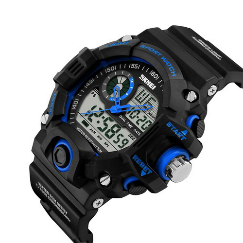 Skmei 1029 Black-Blue