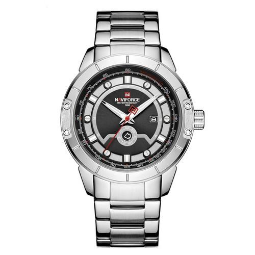 Naviforce NF9166 Silver-Black
