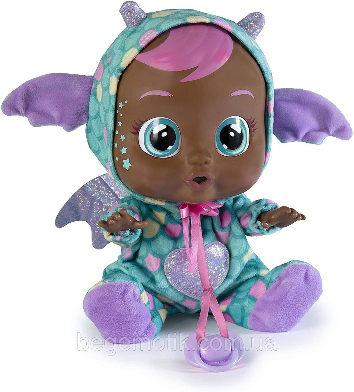 Интерактивная Кукла плакса IMC Toys Cry Babies Hally The Dragon Doll  Пупс дракончик Халли