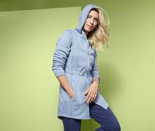 Стильное теплое трикотажное пальто, кофта на флисе от тсм Tchibo (Чибо), Германия, S, M, XL