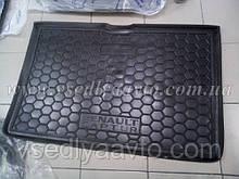 Килимок в багажник RENAULT Captur нижня полиця (Avto-gumm) пластік+гума