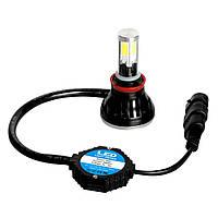 Комплект светодиодных LED ламп Xenon G5 H7 + ПОДАРОК: Брелок с паракордом ультрафиолетовый лазер и фонарик