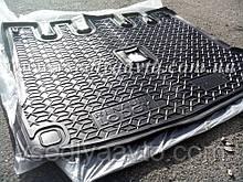 Коврик в багажник RENAULT LODGY с 2018 г. раздельная сидушка (AVTO-GUMM) пластик+резина