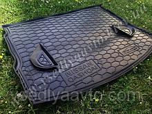 Коврик в багажник NISSAN Qashqai с 2006-2010 полноразмерный (AVTO-GUMM) пластик+резина
