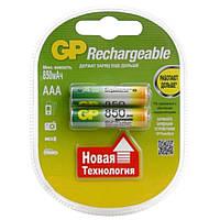Аккумуляторы GP R3/AAA 850 mAh (Блистер 2 батарейки)