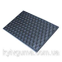 Килим гумовий сота суцільний 40х60(Коврик резиновый сотовый СПЛОШНОЙ 40х60)